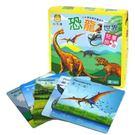 牛津家族 寶寶遊戲拼圖書 恐龍拼圖書 A142037