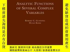 二手書博民逛書店Analytic罕見Functions Of Several Complex Variables-多復變函數Y