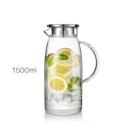 冷水壺家用大容量晾白開水瓶耐熱高溫涼水壺防爆玻璃冷水 貝芙莉女鞋