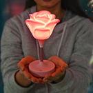 【03699】玫瑰觸控燈 小夜燈 USB...