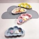 兒童餐具云朵竹纖維環保寶寶輔食碗分格碗2.5歲以下多色小屋