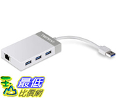 [8美國直購] 集線器 TRENDnet 3-Port USB 3.0 Hub with 10/100/1000 Mbps Gigabit Ethernet TU3-ETGH3