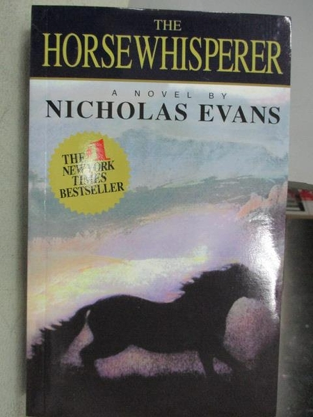 【書寶二手書T9/原文小說_CMA】The Horse Whisperer_Nicholas Evans