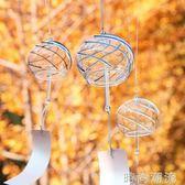 風鈴創意女生玻璃純手工流云日式家居江戶櫻花 和風裝飾車掛 時尚潮流