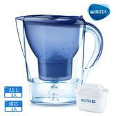 【德國BRITA】3.5L馬利拉濾水壺 (含濾芯x1)