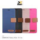 摩比小兔~XMART SAMSUNG Galaxy Note 10 Lite 斜紋休閒皮套 磁扣 可立