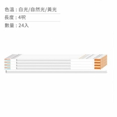 [COSCO代購] W125842 歐司朗/朗德萬斯 星亮LED支架燈4呎20W 24入