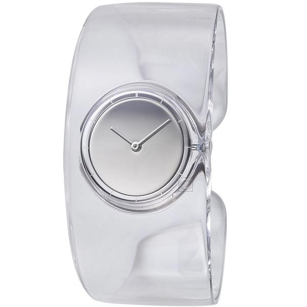 ISSEY MIYAKE三宅一生O系列透明手鐲腕錶 VJ20-0100S SILAW001Y