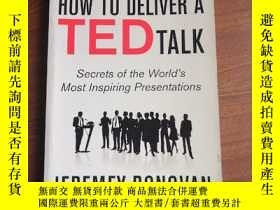 二手書博民逛書店HOW罕見TO DELIVER A RED TALKY12597