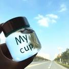 韓國玻璃杯透明女學生可愛迷你水杯清新便攜帶蓋小巧創意隨手杯子