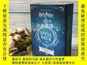 二手書博民逛書店預售哈利波特魔法卡片組及互動書組合套裝Harry罕見Potter: Spell Deck and Interact