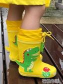 兒童雨鞋男童女童小童中大童幼兒園小孩寶寶防滑雨靴膠鞋水鞋套鞋花樣年華