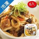 桂冠炒烏龍-照燒豬肉360GX6【愛買冷凍】