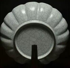 [協貿國際]  青瓷蓮花盆書房擺件收藏稀缺珍品 (1入)