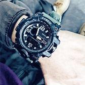 戶外表 電子錶男特種兵戰術軍人男士機械多功能運動防水戶外初中學生手錶 曼慕衣櫃