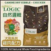 *King Wang*【買大送小(口味隨機)】LOGIC自然邏輯天然糧《全犬種天然防敏感雞肉》15.4磅