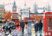 拼圖  Castorland巧思進口成人拼圖 倫敦街景 1000片禮物  晶彩生活