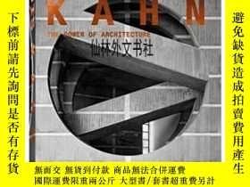 二手書博民逛書店【罕見】2013年出版 Louis Kahn:The Power