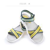 ORWARE-【MIT】歐威爾2018年春夏涼拖鞋 651008-12綠