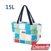Coleman 保冷手提袋15L 薄荷藍 CM-27219 露營│登山│行動冰箱│保冰袋│野餐