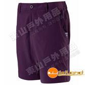 Wildland 荒野 0A11383-79深紫 女彈性透氣抗UV短褲