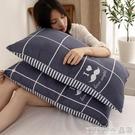 新品枕頭枕頭枕芯一對裝整頭學生宿舍簡約夏天家用護頸椎枕一只單人雙人男