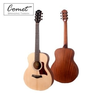 Comet Mini-E 可插電小吉他旅行吉他 雲杉面板 / 桃花心木側背板 (Lasre內建調音器6段EQ) 38吋