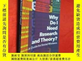 二手書博民逛書店Why罕見Do l Need Research and Theo