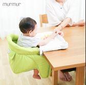 日本寶寶餐椅兒童嬰兒餐桌椅寶寶吃飯可折疊便攜式座椅多功能椅子igo  寶貝計畫