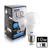 新格牌 廣角型LED省電燈泡-白光(10W)【愛買】