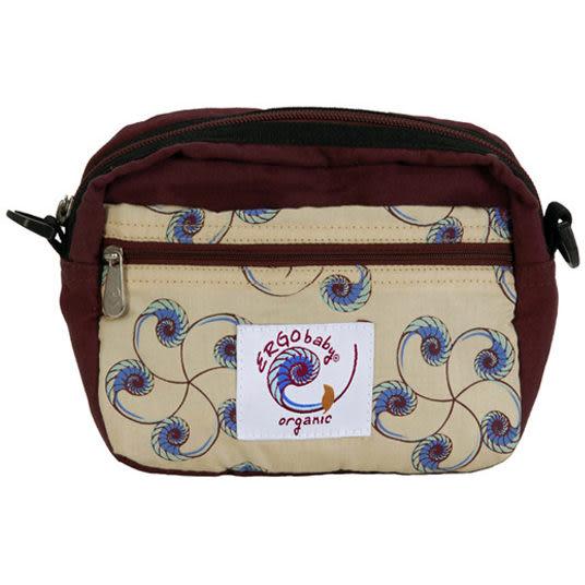 腰包 ERGObaby 爾哥寶寶 嬰兒背巾/嬰童背巾 前用輕巧腰包 有機鸚鵡螺紋 - 附正版授權書