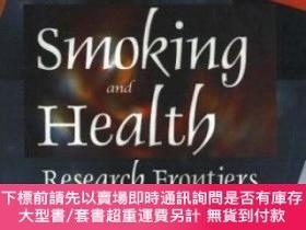 二手書博民逛書店Smoking罕見And HealthY255174 Fong, Calvin B. (edt) Nova S