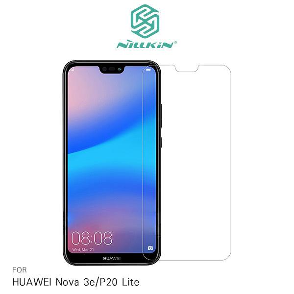 ☆愛思摩比☆NILLKIN HUAWEI Nova 3e/P20 Lite Amazing H 防爆鋼化玻璃貼 9H硬度