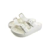 童鞋 涼鞋 拖鞋式 白色 中童 8812C no224