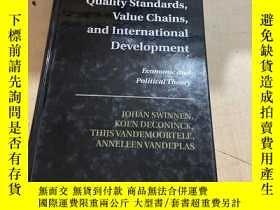 二手書博民逛書店Quality罕見standards Value chains and lnternational develop