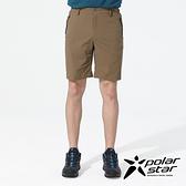 PolarStar 中性 排汗短褲『卡其』P20311 戶外│露營│釣魚│休閒褲│釣魚褲│登山褲│耐磨褲