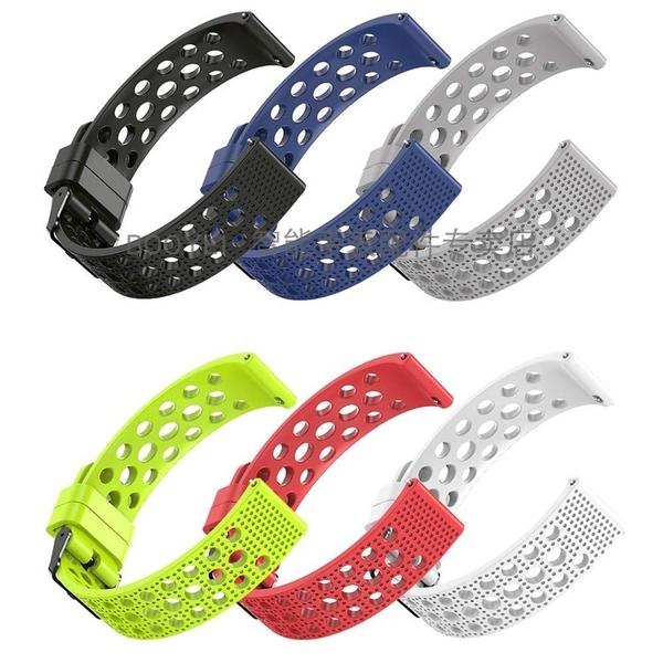 Garmin Venu Sq 智能手錶帶 軟橡膠 TPU 矽膠 錶鏈佳明 透氣 洞洞款 運動腕帶 時尚 潮牌 耐用