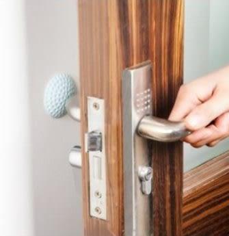 預購-加厚靜音門後牆面防撞墊 防碰墊門把手門鎖防護墊防震墊