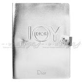 【VT薇拉寶盒】Dior 迪奧 JOY By Dior 愉悅銀色皮革記事本