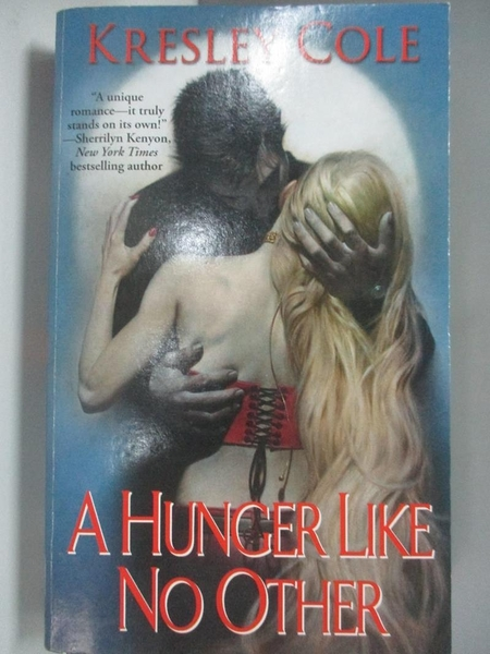 【書寶二手書T7/原文小說_AC8】A Hunger Like No Other_Cole, Kresley