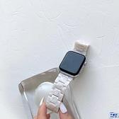 閃粉貝殼白蘋果手表環保輕便樹脂表帶【英賽德3C數碼館】