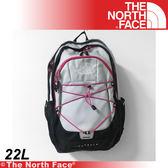 【The North Face 22L 風格雙肩背包《白黑》】A93G-C3F/電腦包/旅行包/後背包/休閒★滿額送