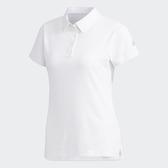 ADIDAS 19FW  排汗 吸濕 短袖 女POLO衫 CLMCH W系列  DV2254 贈1襪【樂買網】