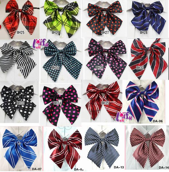 ★依芝鎂★K970領花男女都通用學生領結領花表演制服日系領花領帶,售價69元