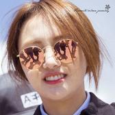 小臉復古太陽眼鏡 墨鏡 10075【櫻桃飾品】【10075】