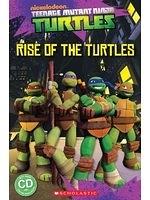 二手書博民逛書店《Teenage Mutant Ninja Turtles: Rise of the Turtles (Popcorn Readers)》 R2Y ISBN:9781909221659
