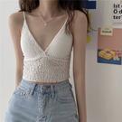 DE shop - 內搭蕾絲吊帶百搭抹胸外穿性感無袖背心 - HL-2117
