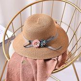 草帽-防曬戶外出遊夏季精選女漁夫帽5色73rp81[時尚巴黎]