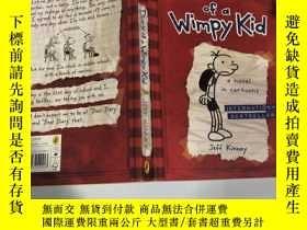 二手書博民逛書店diary罕見of a wimpy kid 一個懦弱孩子的日記Y200392