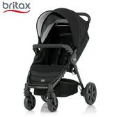 Britax- B Agile 單手收豪華四輪手推車 - 黑色